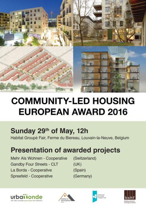 mehr als wohnen gewinnt «European Community-led Housing Award»