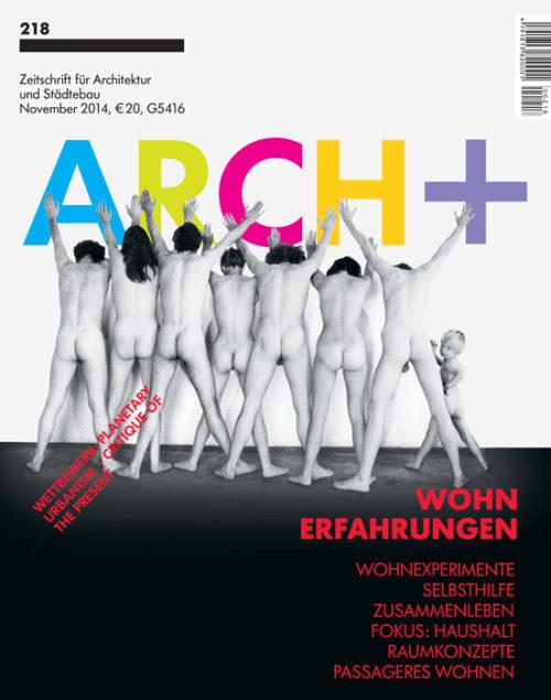 ARCH+ 218: Wohnungscluster und Terrasse Commune